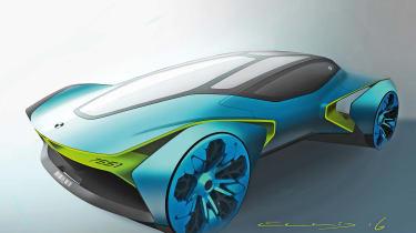 Car design - 60-Minute car by Tom Ellis