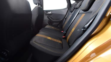Ford Fiesta Active - rear seats