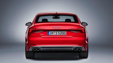 Audi S5 - full rear