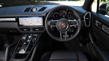 Porsche Cayenne S - dash