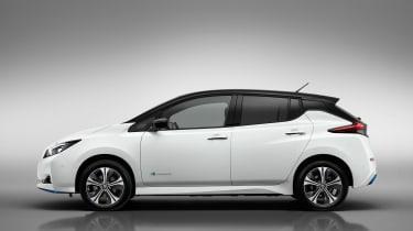 Nissan Leaf e+ - side