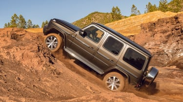 Mercedes G-Class - side off-road