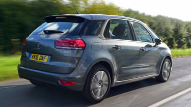 Citroen C4 Picasso Touch Edition - rear tracking