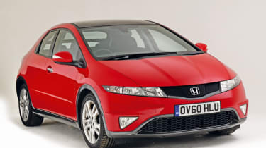 Honda Civic Mk8 - front static