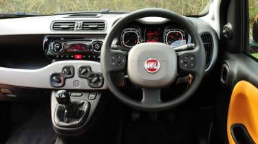 Fiat Panda Trekking interior