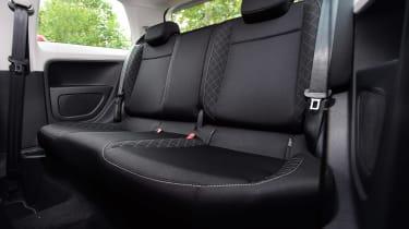 Skoda Citigo - rear seats