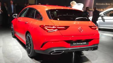 Mercedes CLA Shooting Brake - Geneva side/rear