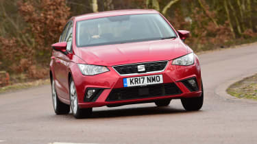 SEAT Ibiza long term test - second update front cornering