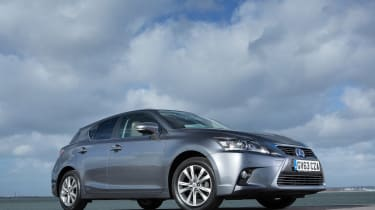 Lexus CT 200h 2014 front static