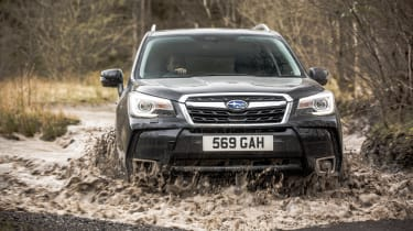 Subaru Forester XT - front water