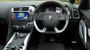Citroen DS5 Hybrid4 interior