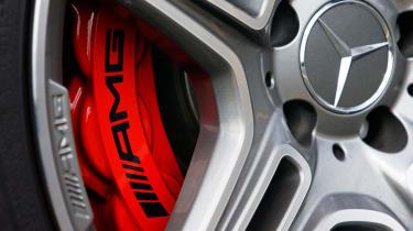 Mercedes SL 63 AMG wheel detail