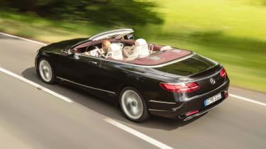 Mercedes S-Class Cabriolet - rear