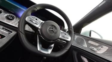 Mercedes CLS steering wheel