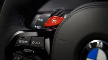 BMW M5 CS - studio M button