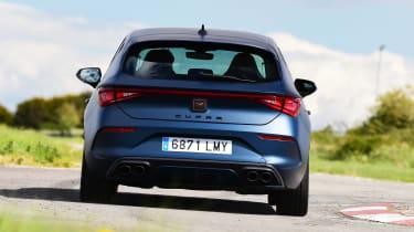 Cupra Leon - rear cornering