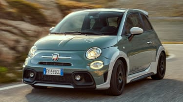 Abarth 695 70th Anniversario - front action