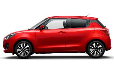 New Suzuki Swift - side static