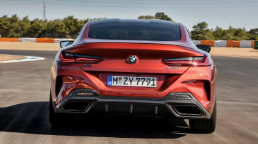 BMW 8 Series - track full rear