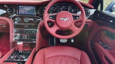 Bentley Mulsanne Speed 2017 - interior