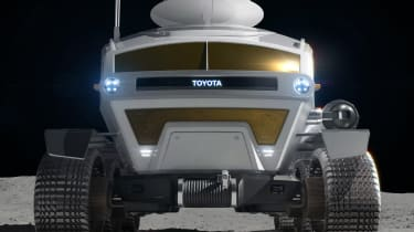Toyota lunar vehicle - front