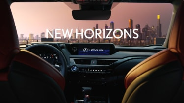 Lexus UX official interior