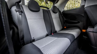 Fiat has nailed the driving position in the Mk3 500, but the rear seats are best kept for the kids