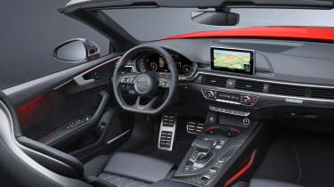 New Audi S5 Cabriolet 2017 cabin