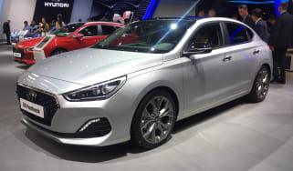 Hyundai i30 Fastback - Frankfurt front