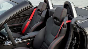 Mercedes-AMG SLC 43 front seats