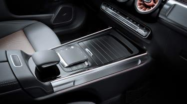 Mercedes EQB - centre console