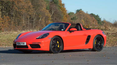 Porsche 718 Boxster S - front static