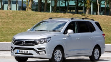 SsangYong Turismo - front
