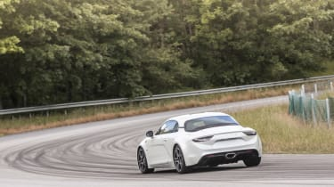 Alpine A110 ride review - rear