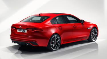 Jaguar XE - studio rear