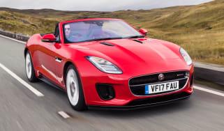 Jaguar F-Type Convertible 2.0-litre 4-cylinder - front