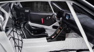 Toyota GR Supra concept interior roll cage