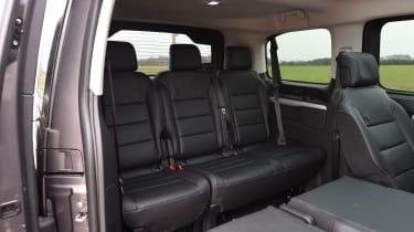 Peugeot Traveller 2017 - rearmost seats