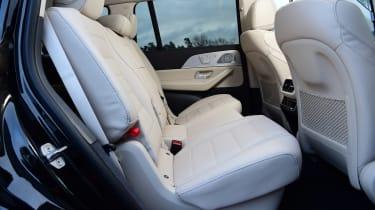 Mercedes GLS - rear seats