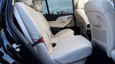 Mercedes GLS - rear seats