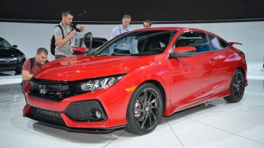 Honda Civic Si - LA Motor Show front