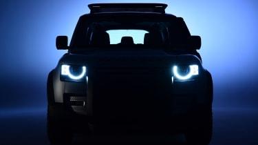 Land Rover Defender - studio front dark
