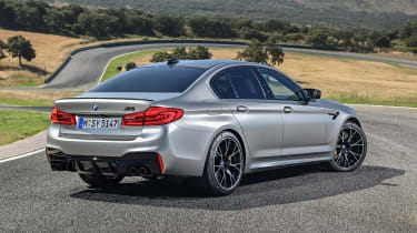 BMW M5 Competition - rear static