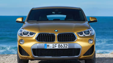 2018 BMW X2 - front