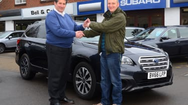 Long-term test review: Subaru Outback first report header 2