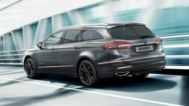 Ford Mondeo Estate Hybrid - rear action