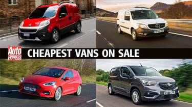 Cheapest vans to buy - header