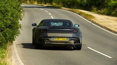 Aston Martin DBS Superleggera prototype - rear action