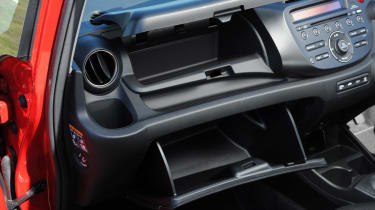 Honda Jazz Si interior detail