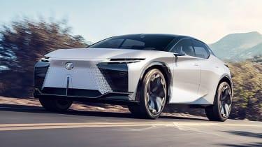 Lexus LF-Z Electrified concept - front
